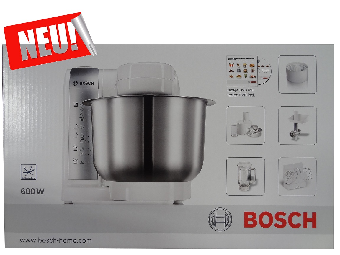bosch k chenmaschine mum 4880 600 watt mixer entsafter. Black Bedroom Furniture Sets. Home Design Ideas